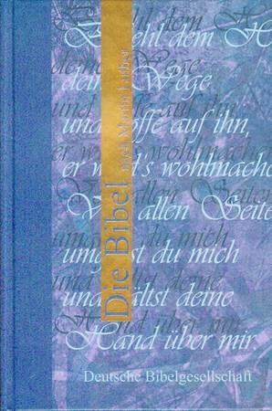 Bibbia in Tedesco Colore Blu (Copertina rigida)