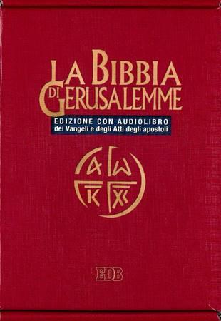 La Bibbia di Gerusalemme - Edizione con Audiolibro (Brossura)