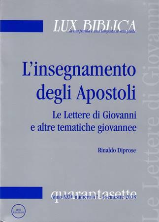 L'insegnamento degli Apostoli (Brossura)