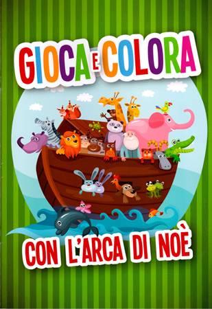 Gioca e colora con l'arca di Noè (Spillato)