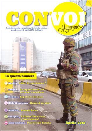 Rivista Con voi Magazine - Aprile 2016 (Spillato)