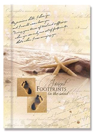 "Quaderno ""Footprints"" rigido"