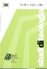Profili di teologia Biblica (Studi di teologia n° 30) (Brossura)