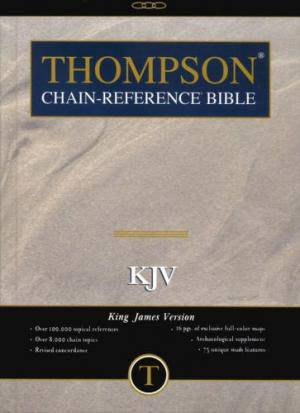 The Thompson Chain - Reference Study Bible KJV Hardback