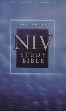 The compact NIV Study Bible Hardcover