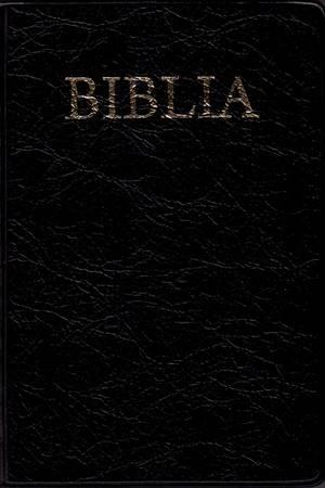 Bibbia in Rumeno Nera e Rossa (Copertina rigida)