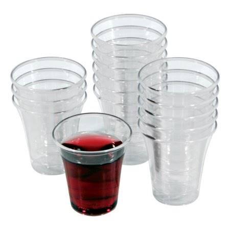 Confezione da 1000 bicchierini di plastica per la Santa Cena (Scatola)