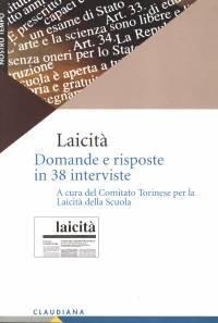 Laicità - Domande e risposte in 38 interviste (Brossura)