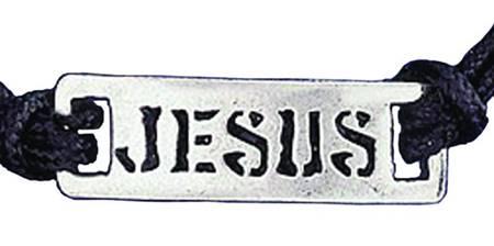 """Braccialetto regolabile """"Jesus"""""""