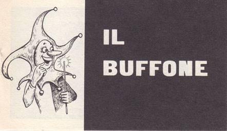 Il buffone - Confezione da 20 opuscoli (Spillato)