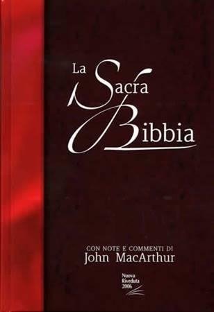 Bibbia da Studio MacArthur NR06 - 35419 (SG35419) (Copertina rigida)