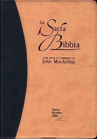 Bibbia da Studio MacArthur NR06 - 35444 (SG35444) (Similpelle)