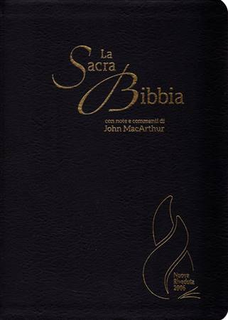 Bibbia da Studio MacArthur NR06 - 35469 (SG35469) (Pelle)