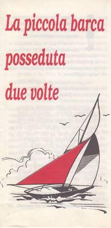 La piccola barca posseduta due volte - 20 opuscoli (Pieghevole)