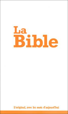 La Bible - Bibbia in lingua francese Low Cost - 12301 (SG12301)