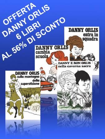 6 Libri della serie Danny Orlis per ragazzi (8 - 13 anni) (Brossura)
