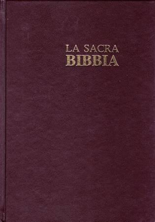 Bibbia Nuova Diodati - B03EO - Formato grande (Copertina rigida)