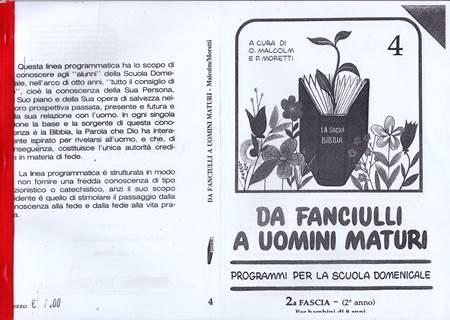 Da fanciulli a uomini maturi - vol. 4 Manuale Insegnante (Spillato)