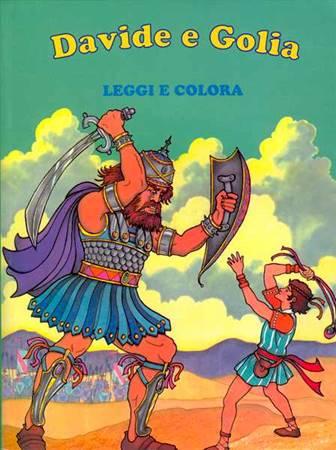 Davide e Golia - Leggi e colora (Brossura)