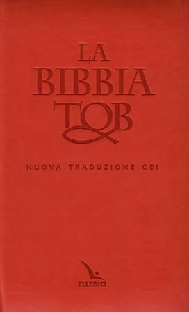 La Bibbia da Studio TOB - Nuova traduzione CEI Similpelle (Similpelle)