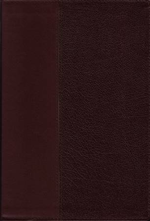 KJV Commentary Bible - Large print, red letter edition