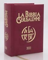 La Bibbia di Gerusalemme edizione tascabile rilegata in similpelle
