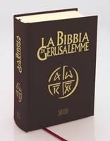 La Bibbia di Gerusalemme in pelle tascabile