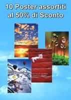 10 Poster al prezzo di 5 - 50% di Sconto