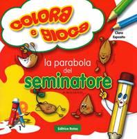La parabola del Seminatore - Libro da colorare con giochi