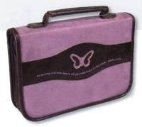 Copribibbia Farfalla Viola Medio
