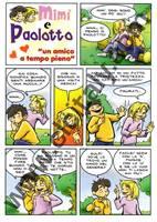 Mimì e Paolotto - Un amico a tempo pieno - Confezione da 100 opuscoli