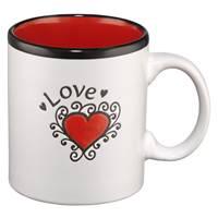 Tazza Love Rossa