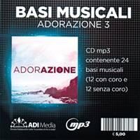 Adorazione 3 - Basi Musicali Mp3