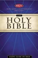 Holy Bible NKJV UltraSlim black leather (Pelle) [Bibbia Grande]