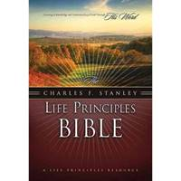 The Charles F. Stanley Life Principles Bible (NASB) (Copertina rigida)