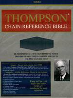 Thompson chain-reference Bible KJV (Similpelle) [Bibbia Grande]