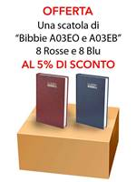 Offerta - Una scatola da 16 copie di Bibbie A03EO e A03EB al 15% di sconto (Brossura) [Bibbia Media]