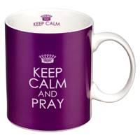Tazza Keep calm and Pray