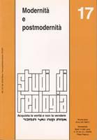 Modernità e postmodernità (Studi di Teologia - n° 17)