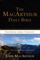 The MacArthur Daily Bible - New King James Version - Signature Series