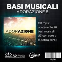 Adorazione 5 - Basi musicali in Mp3