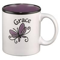 Tazza Grace Viola