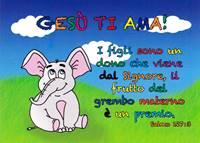 Cartolina Elefantino