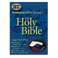 KJV Extra large print Bible without references (PVC)