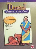 Daniele, forte nel Signore - Figure a flanella o testo a spirale, testo e sussidi