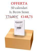 Scatola Calendari Il Buon Seme - 50 pezzi (Blocchetto da muro)