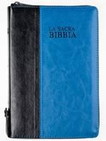 Bibbia Nuova Diodati Nera/Blu - Formato medio (171.252)