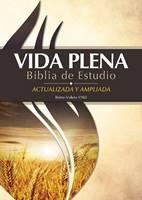 Santa Biblia RVR60 Vida Plena Biblia De Estudio (Copertina rigida)