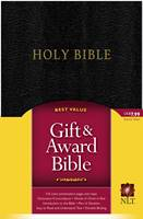 NLT Holy Bible Gift&Award Black (Similpelle nera)
