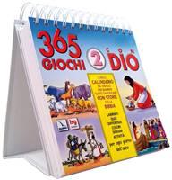 365 giochi con Dio 2 - Il primo calendario da tavolo per bambini tutto da giocare con storie della Bibbia (Spirale)